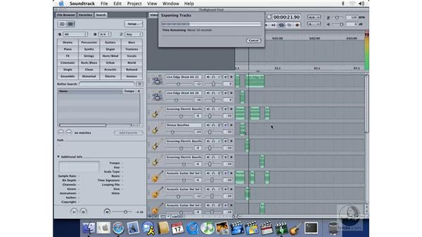 exporting: Soundtrack Essential Training