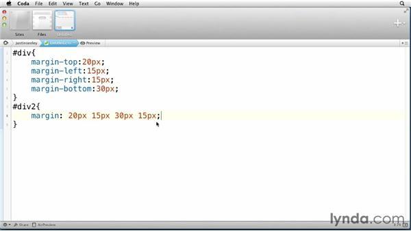 Using CSS shorthand: CSS: Visual Optimization
