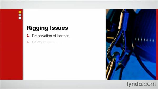 Exploring rigging issues: Effective Site Surveys for Video and Photo Projects