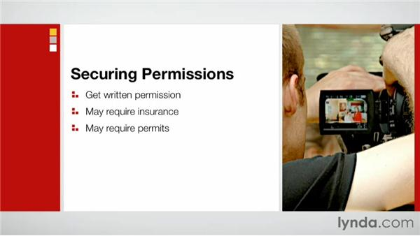 Securing permissions: Effective Site Surveys for Video and Photo Projects