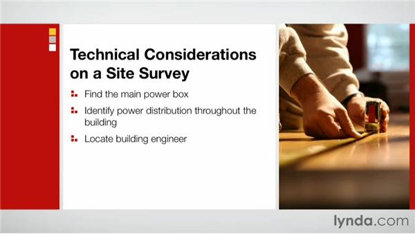 Technical considerations: Effective Site Surveys for Video and Photo Projects