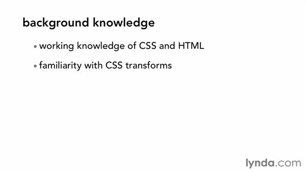 What you should know before watching this course: CSS: Animations (2013)