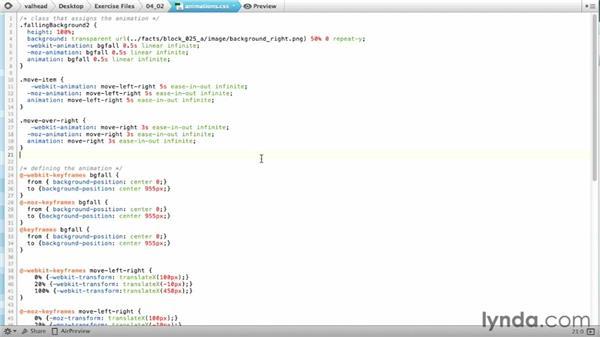 Organizing animation code for semantics and fallbacks: CSS: Animations (2013)