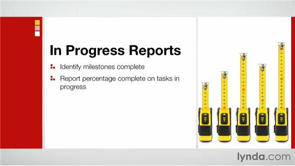 Using in-progress reports to communicate with clients: Practical Project Management for Creative Projects