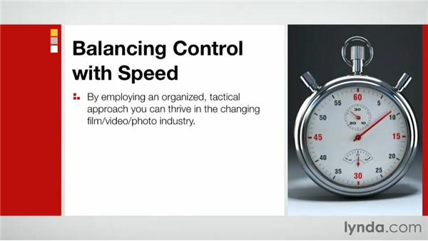 Balancing control with speed: Practical Project Management for Creative Projects