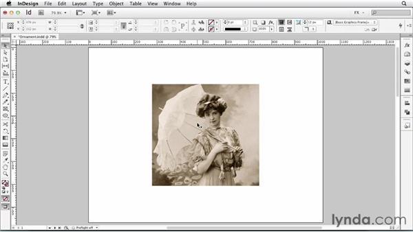 079 Creating ornamental frames: InDesign FX