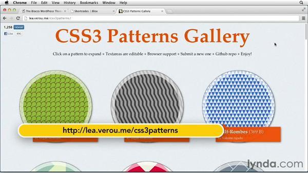 Examples of gradients in design: CSS: Gradients