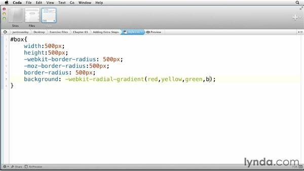 : CSS: Gradients