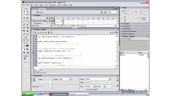 LoadVars part 1: Flash MX 2004 Beyond the Basics