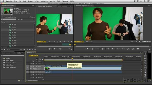 Why use Premiere Pro for editing?: Up and Running with DSLR Filmmaking