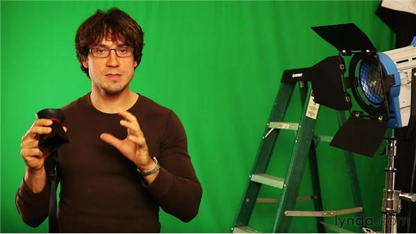 Using a viewfinder: Up and Running with DSLR Filmmaking