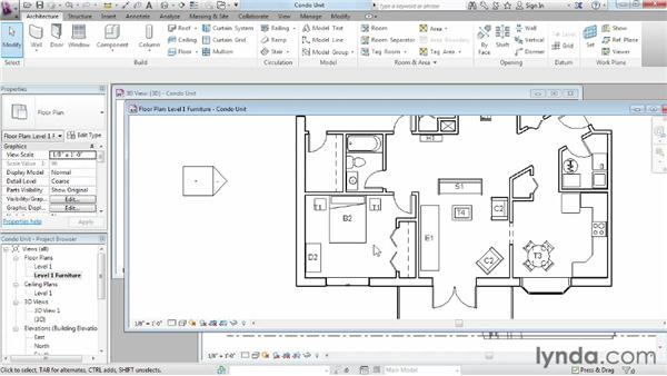 Looking at interface differences: Migrating from AutoCAD to Revit