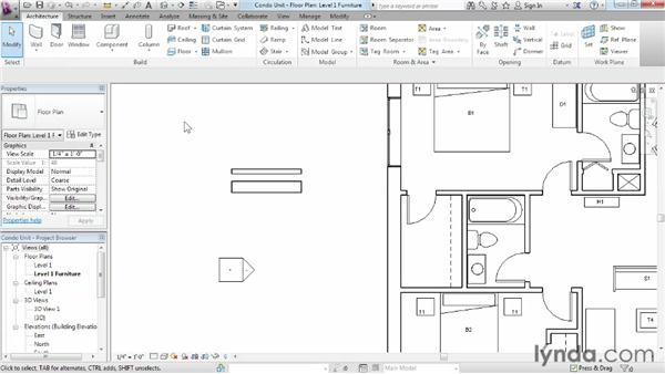 Looking at interface similarities: Migrating from AutoCAD to Revit