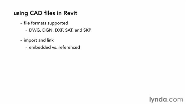 Using CAD files in Revit: Migrating from AutoCAD to Revit