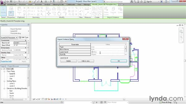 Understanding linking vs. importing: Migrating from AutoCAD to Revit