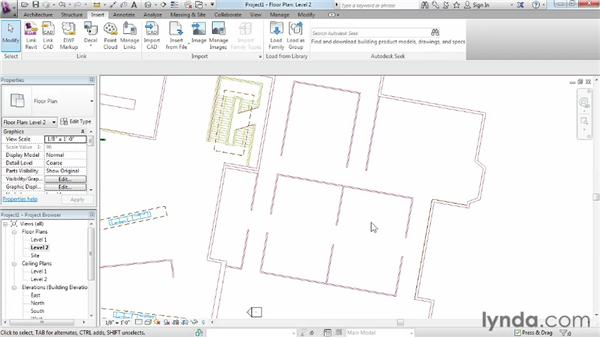 Tracing CAD files: Migrating from AutoCAD to Revit