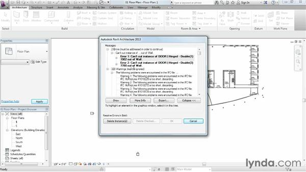 Using the IFC format: Migrating from AutoCAD to Revit