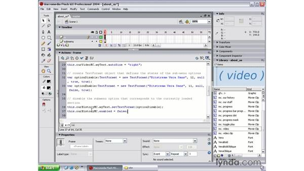 disable interactivity: Flash MX 2004 Beyond the Basics