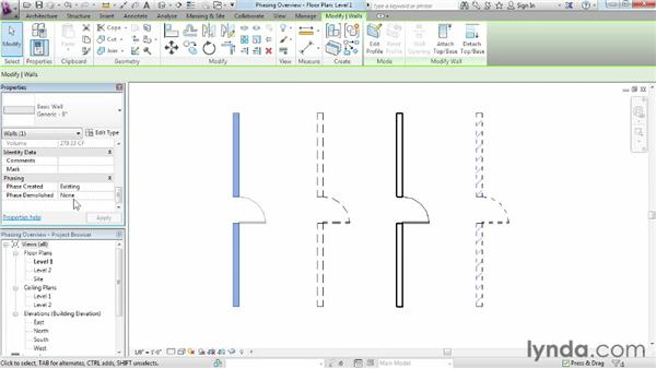 Understanding phasing: Phasing and Design Options in Revit
