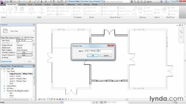 Utilizing phase filters and graphic overrides: Phasing and Design Options in Revit