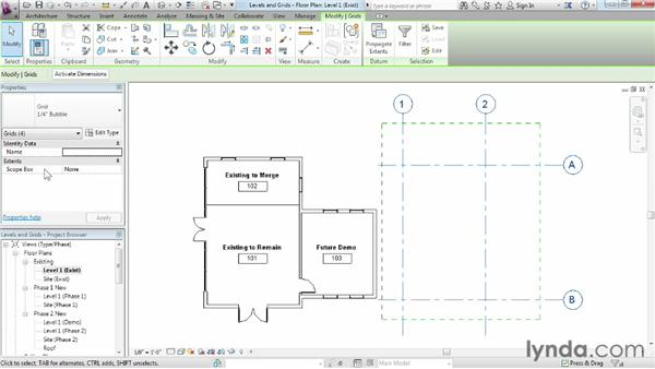 : Phasing and Design Options in Revit