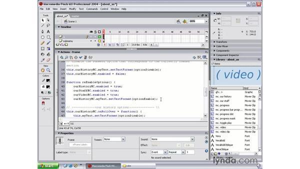 enable interactivity part 2: Flash MX 2004 Beyond the Basics