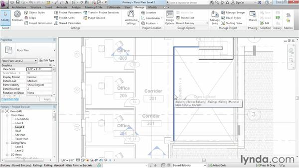 Looking at primary options: Phasing and Design Options in Revit