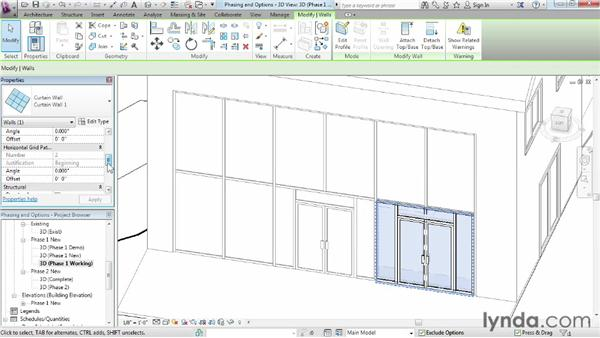 Working with phasing and design options together: Phasing and Design Options in Revit