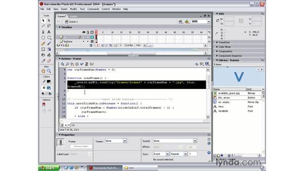 next slide part 2: Flash MX 2004 Beyond the Basics