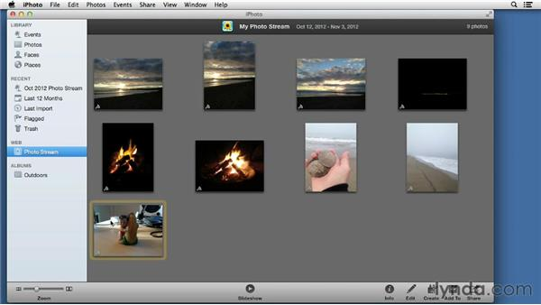 Syncing photos with Photo Stream: iPad Tips and Tricks (2010)