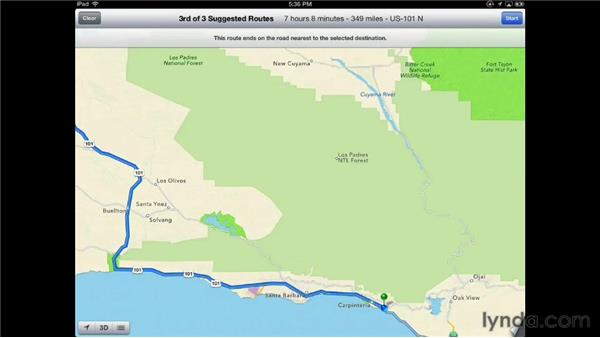 Finding the way with Apple Maps: iPad Tips and Tricks (2010)