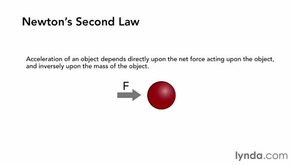 What are Newton's laws of motion?: Creating Simulations in MassFX and 3ds Max