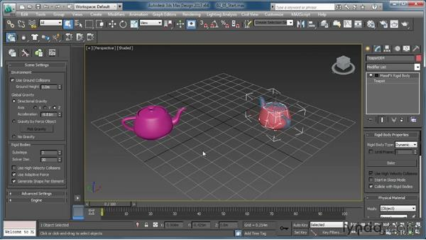 : Creating Simulations in MassFX and 3ds Max