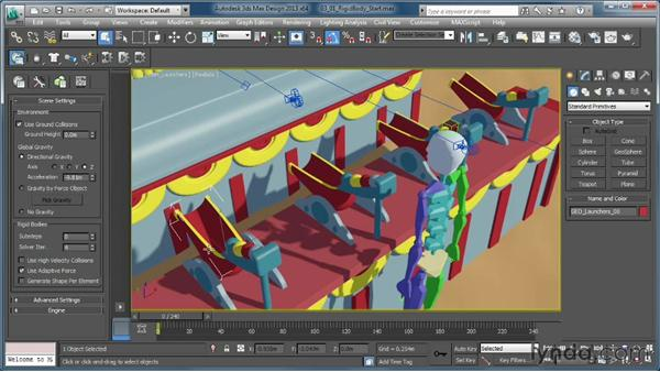 Breaking down the shot: Creating Simulations in MassFX and 3ds Max