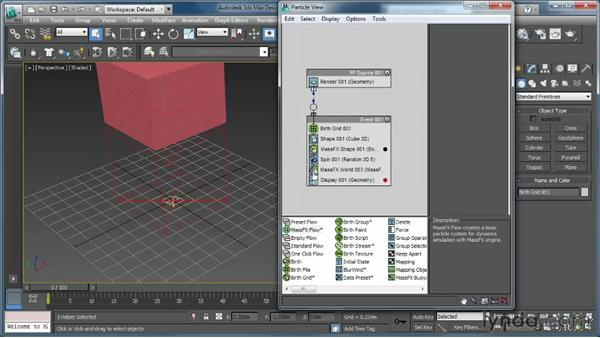 Walking through mParticles: Creating Simulations in MassFX and 3ds Max