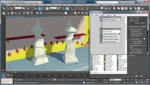 Using fracture geometry: Creating Simulations in MassFX and 3ds Max