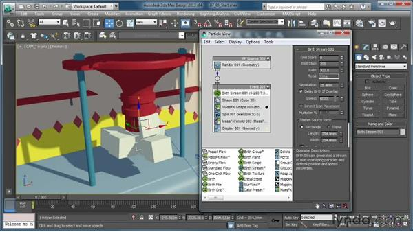 Creating a gloopy fluid: Part 1: Creating Simulations in MassFX and 3ds Max