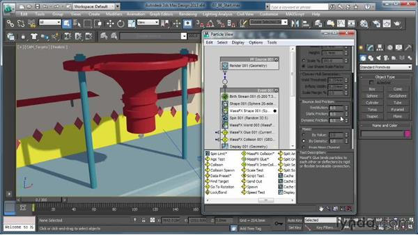 Creating a gloopy fluid: Part 2: Creating Simulations in MassFX and 3ds Max