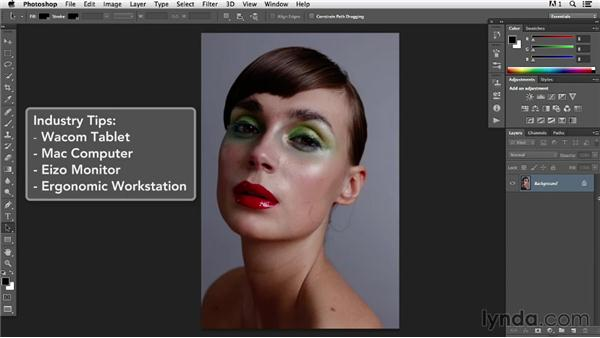 What you should know before watching this course: Photoshop Retouching Techniques: Beauty Portraits