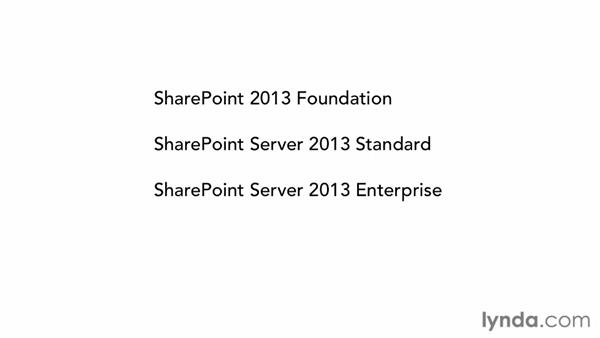 Understanding SharePoint 2013 products: SharePoint 2013 New Features