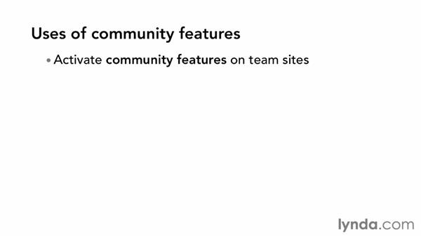 Creating a community site: SharePoint 2013 New Features