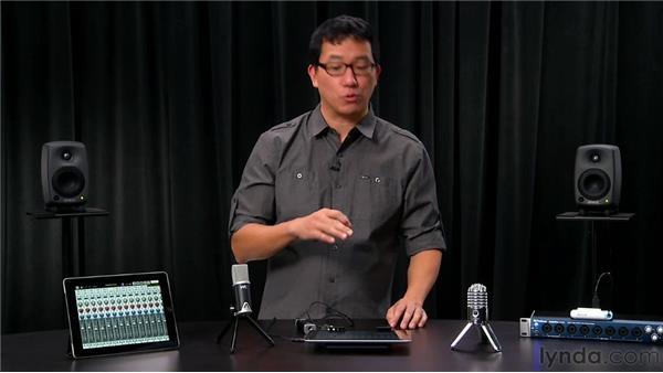 Using external audio input hardware: iPad Music Production: Auria