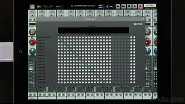 Setting up the audio chain: iPad Music Production: Auria