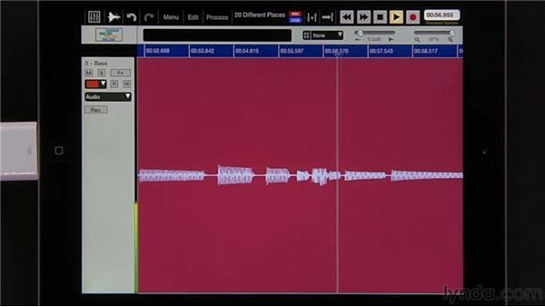 Using Auto-punch: iPad Music Production: Auria