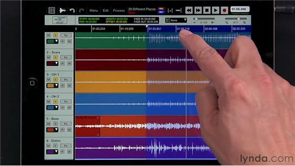 Bouncing tracks: iPad Music Production: Auria