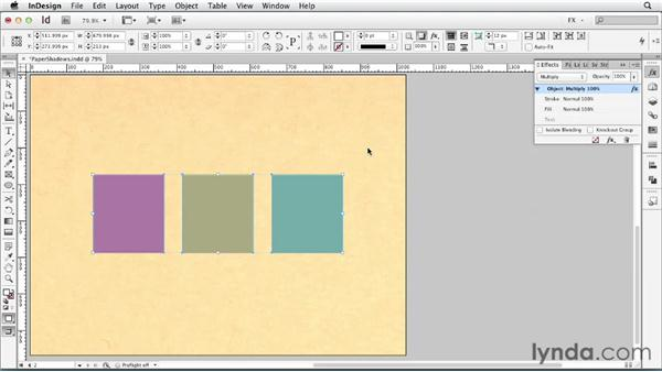 082 Putting curved shadows on paper: InDesign FX