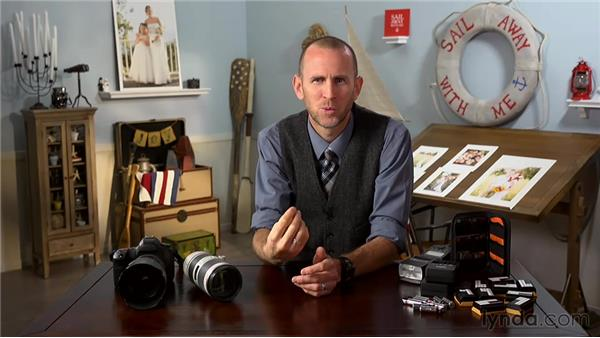 Reviewing essential gear: Wedding Photography for Everyone: Fundamentals
