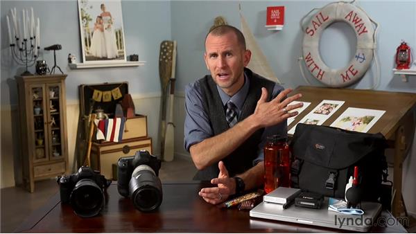 Exploring other gear tips: Wedding Photography for Everyone: Fundamentals