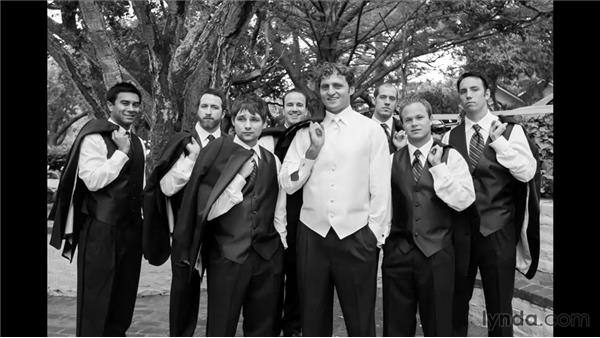 Documenting the groomsmen: Wedding Photography for Everyone: Fundamentals