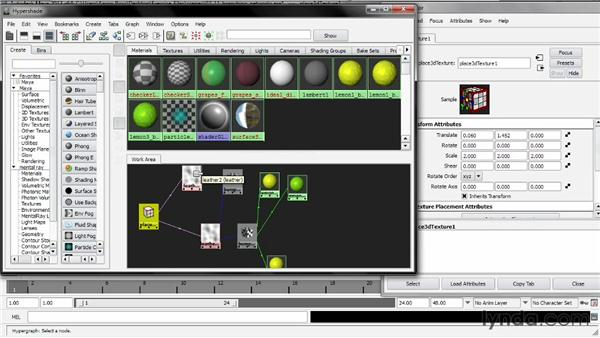 Building branching networks: Creating Shader Networks in Maya and mental ray